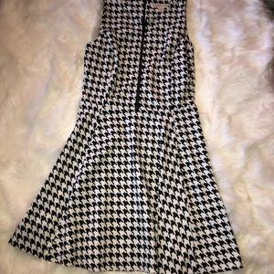 MICHAEL KORS HOUNDSTOOTH DRESS